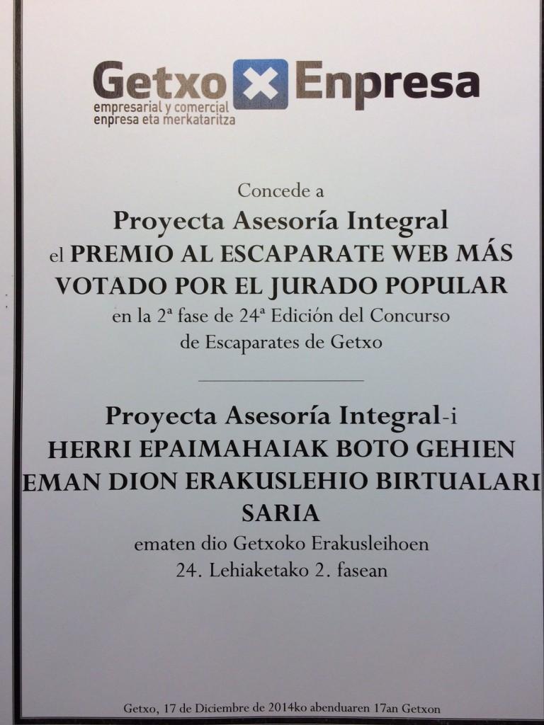 Ganadores del Premio al Escaparate Web más Votado por el Jurado Popular
