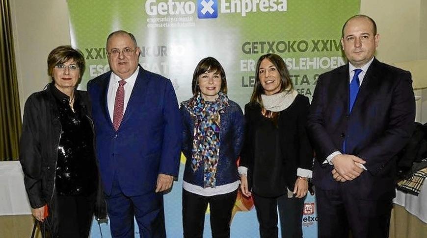 Entrega premios GetxoEnpresa-Proyecta