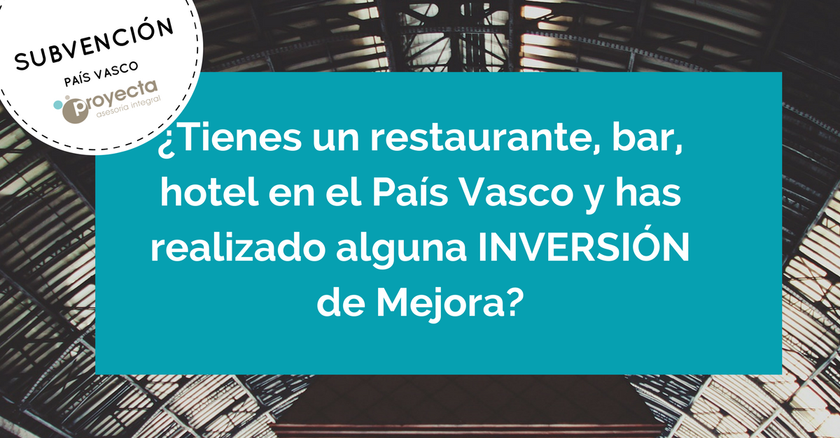 Subvencion restaurantes