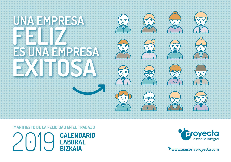 PROYECTA CALENDARIO 2019 calendario laboral bizkaia por municipios