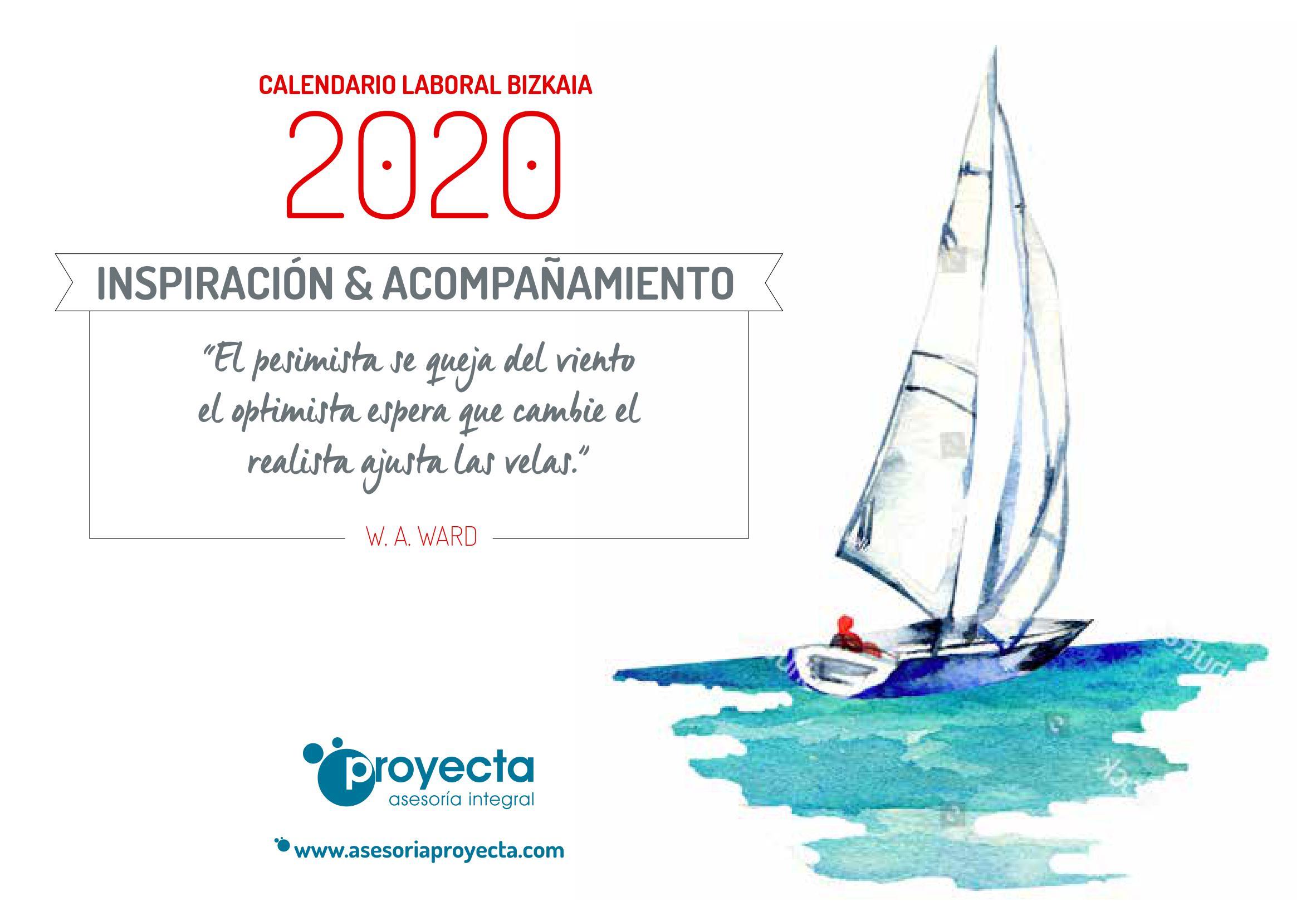 calendario laboral 2020 bizkaia