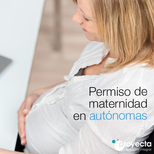 Permiso de maternidad en autónomas