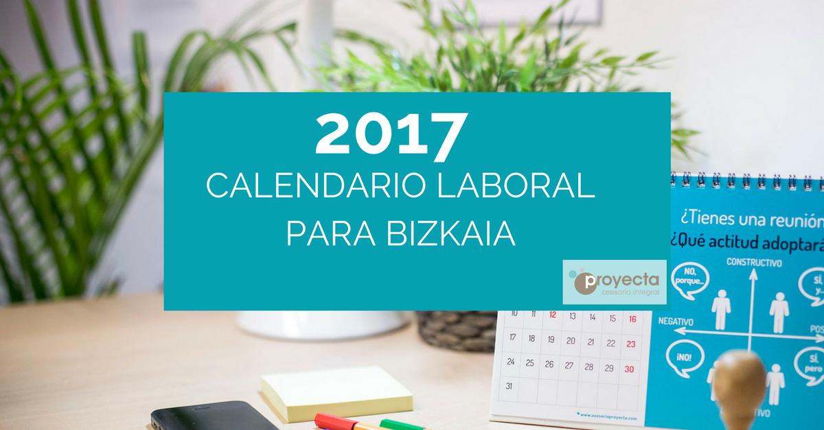 calendario-laboral-2017 BIZKAIA