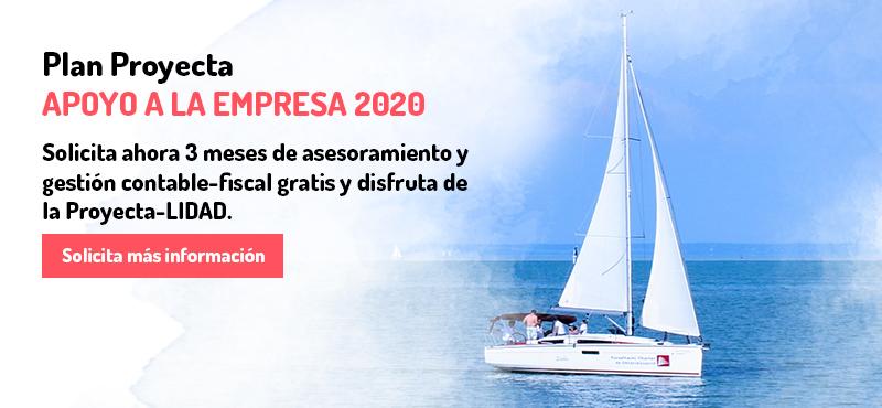 Plan Proyecta Apoyo a la Empresa 2020