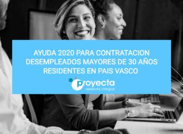 Ayuda 2020 para contratacion desempleados